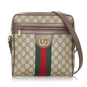 Gucci Borsa a spalla beige