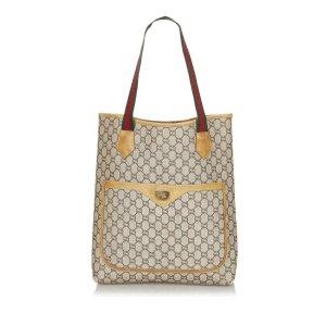 Gucci Sac fourre-tout beige