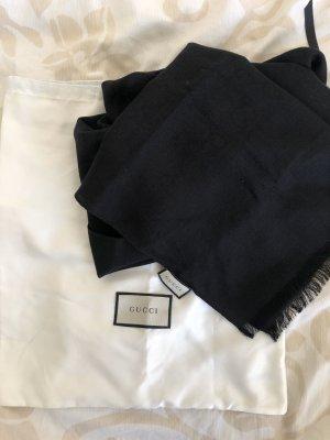Gucci Bufanda de seda negro