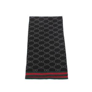 Gucci Écharpe noir laine