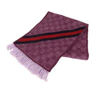 Gucci Écharpe violet laine