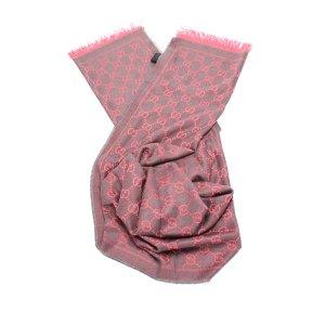 Gucci Écharpe rosé laine