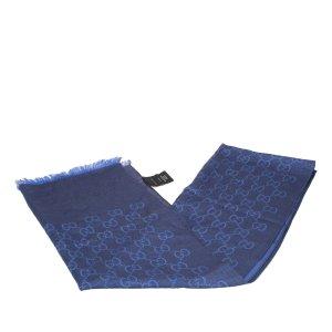 Gucci Écharpe bleu laine