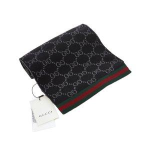 Gucci Scarf black wool