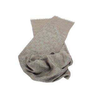 Gucci Écharpe gris clair laine