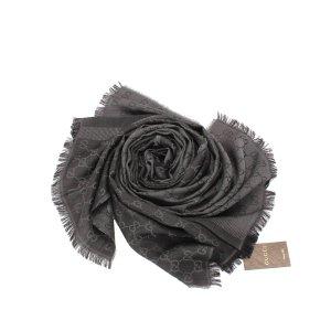 Gucci Sjaal zwart Wol