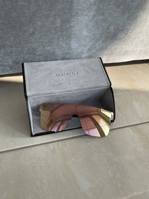 GUCCI GG4265/S Sonnenbrille Gold/Ruthenium Grey Rosego mirrored