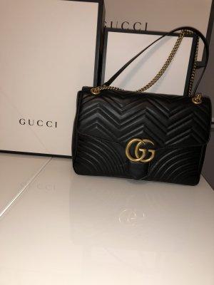 Gucci große Marmont Schultertasche