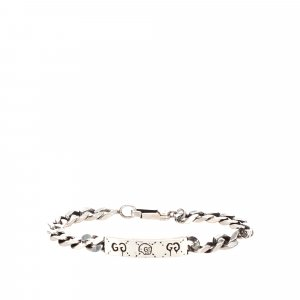 Gucci Bracelet silver-colored real silver