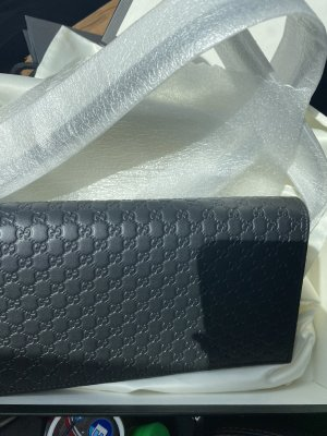 Gucci guccisima crossbody wallet
