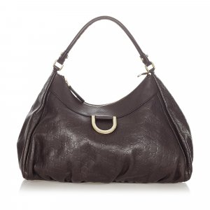 Gucci Guccissima Abbey D-Ring Shoulder Bag