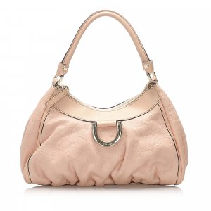Gucci Guccissima Abbey D-Ring Shoulder Bag