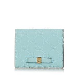 Gucci Guccissima Bow Bi-Fold Wallet