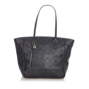 Gucci Guccissima Bree Leather Tote Bag