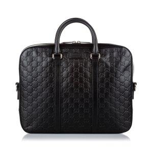 Gucci Guccissima Business Bag