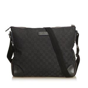 Gucci Guccissima Canvas Crossbody Bag