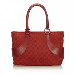 Gucci Guccissima Canvas Handbag