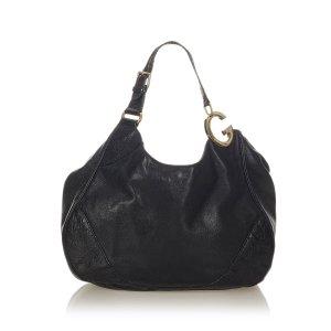 Gucci Bolso de compra negro Cuero