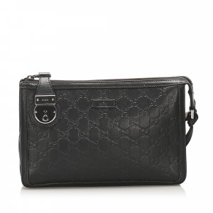 Gucci Guccissima Clutch Bag