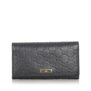 Gucci Guccissima Continental Long Wallet