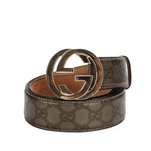 Gucci Cinturón marrón Cuero