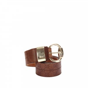 Gucci Belt brown leather