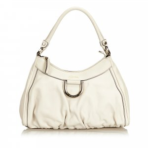 Gucci Guccissima Leather D-Ring Shoulder Bag