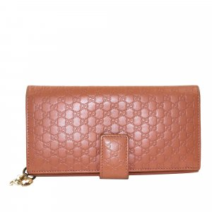 Gucci Guccissima Leather Long Wallet