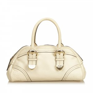 Gucci Guccissima Leather Shoulder Bag