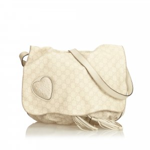Gucci Crossbody bag white leather
