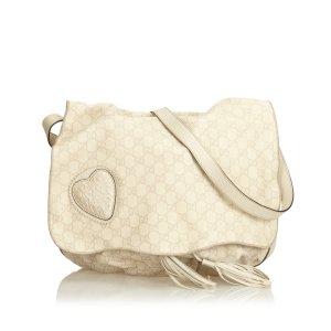 Gucci Guccissima Leather Tribeca Messenger Bag