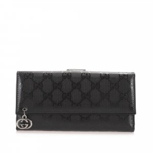 Gucci Guccissima Long Wallet