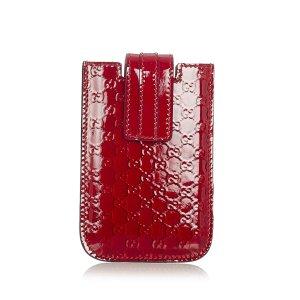 Gucci Borsetta mini rosso Finta pelle