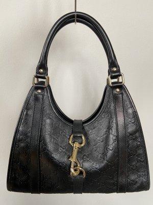 GUCCI Guccissima Small Joy Hobo Leder Handtasche