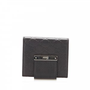 Gucci Wallet black leather