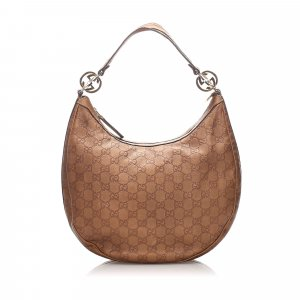 Gucci Guccissima Twins Hobo Bag