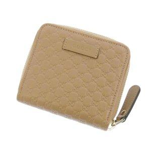 Gucci Guccissima Zip Around Small Wallet