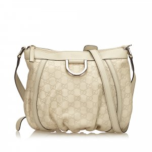 Gucci Gucissima D-Ring Crossbody Bag