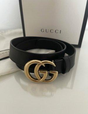 Gucci Cintura doppia nero-oro