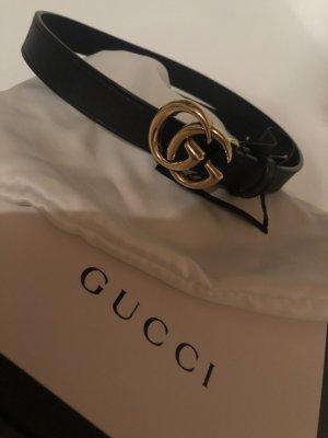 Gucci Ceinture en cuir noir