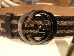 Gucci Cinturón de cuero multicolor Cuero