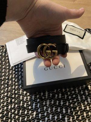 Gucci Ceinture en cuir noir cuir