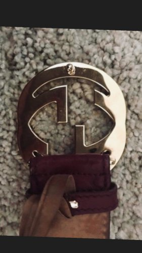 Gucci Belt Buckle multicolored leather