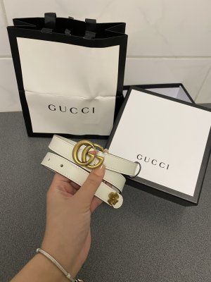 Gucci Waist Belt white-gold-colored