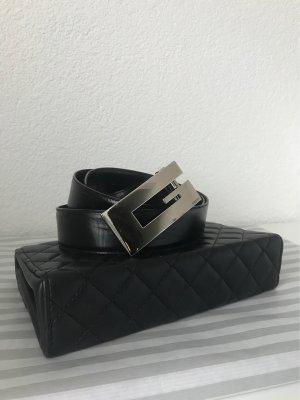 Gucci Cinturón reversible negro