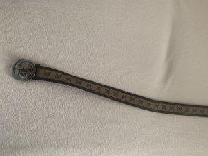 Gucci Cinturón de cuero beige-marrón