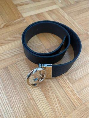 Gucci Leather Belt black-dark brown