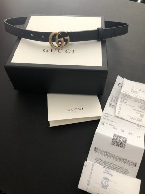 Gucci Belt Buckle black-gold-colored