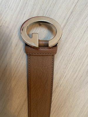Gucci Leather Belt cognac-coloured