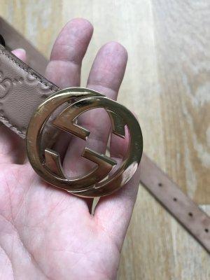 Gucci Gürtel guccissima interlocking